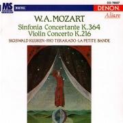 Wolfgang Amadeus Mozart: Sinfonia Concertante & Violin Concerto