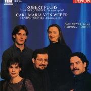 Robert Fuchs & Carl Maria von Weber: Clarinet Quintets