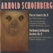 Schoenberg: Pierrot Lunaire; Book Of Hanging Gardens