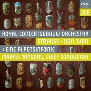 Strauss, Richard: Eine Alpensinfonie & Don Juan (Live)