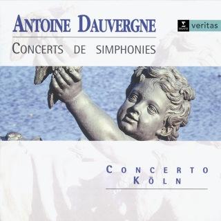 Dauvergne - Concerts de Simphonies