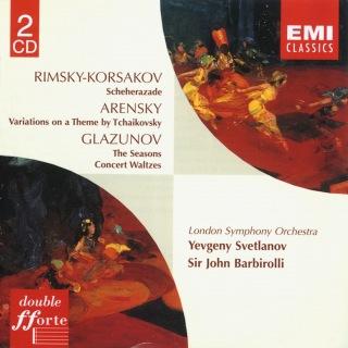 Rimsky-Korsakov: Scheherazade & Glazunov: The Seasons
