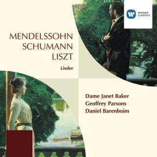 Mendelssohn, Schumann & Liszt Lieder