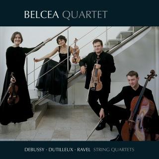 Debussy, Dutilleux & Ravel: String Quartets