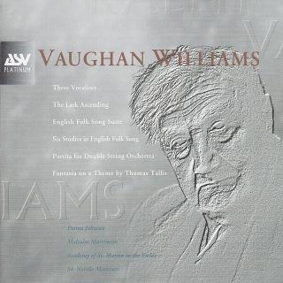 Vaughan Williams: Partita, 3 Vocalises, Fantasia on a Theme by Thomas Tallis, The Lark Ascending