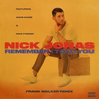 Remember I Told You (Frank Walker Remix)
