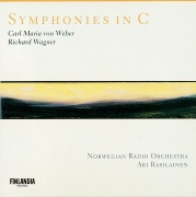 Wagner / Weber : Symphonies in C