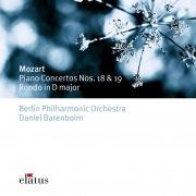 Mozart : Piano Concertos Nos 18, 19, Rondo K382  -  Elatus