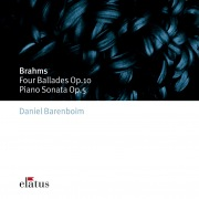 Brahms : 4 Ballades op.10 & Piano Sonata op.5 in F minor  -  Elatus