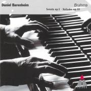 Brahms: 4 Ballades Op.10 & Piano Sonata Op. 5 in F Minor