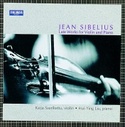 Sibelius : Late Works for Violin and Piano
