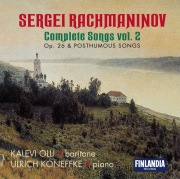 Rachmaninov : Complete Songs Vol. 2 - Op.26 and Posthumous Songs
