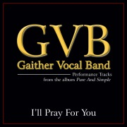 I'll Pray For You (Performance Tracks)