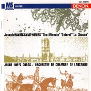 "Joseph Haydn: Symphonies ""The Miracle"", ""Oxford"" & ""La Chasse"""