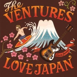 THE VENTURES LOVE JAPAN