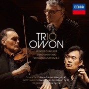 Tchaikovsky, Shostakovich and Weinberg Piano Trios