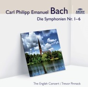 Bach, C.P.E.: Symphonies for Strings 1-6