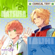オリジナルアニメ「number24」エンディング「COMICAL TRY!!」-TV size-