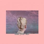 near your ear.