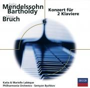 Mendelssohn, Bruch: Konzerte für 2 Klaviere