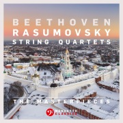 "The Masterpieces, Beethoven: String Quartets Nos. 7, 8 & 9, Op. 59 ""Rasumovsky"""