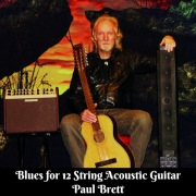 Blues For 12 String Acoustic Guitar