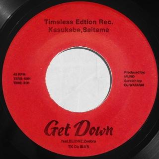 Get Down (feat. ELIONE & Zeebra)