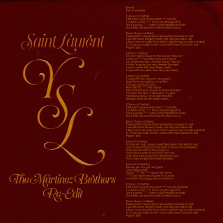 SaintLaurentYSL (The Martinez Brothers Re-Edit)
