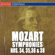 Mozart: Symphonies - Vol. 7 - 34, 35, 36 & 38