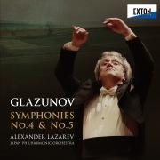 グラズノフ:交響曲第 4番 & 第 5番
