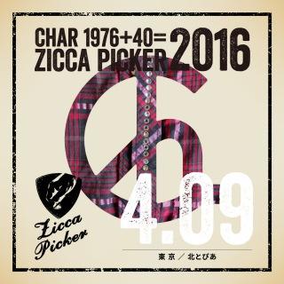 ZICCA PICKER 2016 vol.8 live in Kita