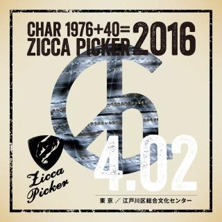 ZICCA PICKER 2016 vol.7 live in Edogawa