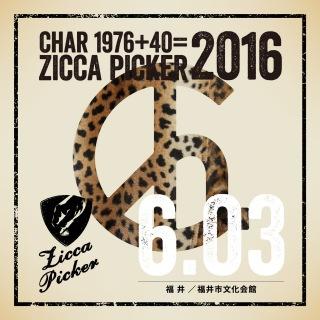 ZICCA PICKER 2016 vol.18 live in Fukui
