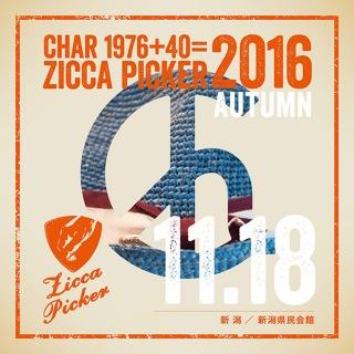 ZICCA PICKER 2016 vol.28 live in Niigata
