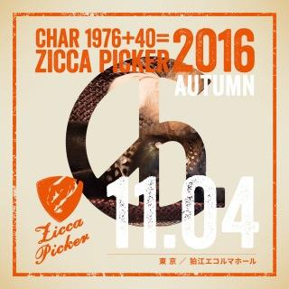 ZICCA PICKER 2016 vol.25 live in Komae