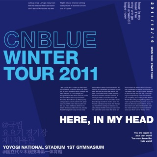 Live-2011 Winter Tour -In My Head-