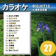 カラオケ BIG HIT 15 女演歌哀愁編 27