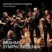 Brahms: Symphonies 3 and 4