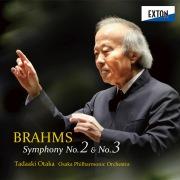 ブラームス:交響曲 第 2番 & 第 3番