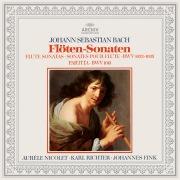 Bach: Partita BWV 1013, Flute Sonatas BWV 1033, 1034 & 1035