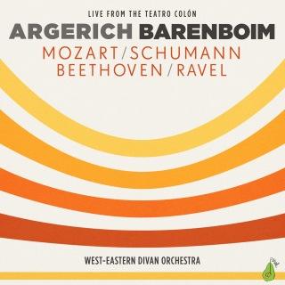 Argerich - Barenboim - Mozart, Schumann, Beethoven, Ravel