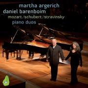 Mozart, Schubert & Stravinsky Piano Duos (Live)