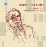 Ralph Kirkpatrick - The complete 1950s Bach recordings on Archiv