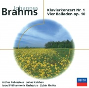 Brahms: Klavierkonzert Nr.1; Vier Balladen Op.10