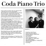 Coda Piano Trio