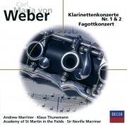 Carl Maria von Weber: Klarinettenkonzerte Nr. 1 & 2, Fagottkonzert