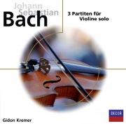 Bach, 3 Partiten für Violine solo
