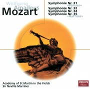 Mozart: Sinfonien Nr.31, 32, 34 & 35