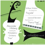 "Walton: 4 Dances from Facade - Bernstein: 3 Dances from ""Fancy Free"" (Remastered)"