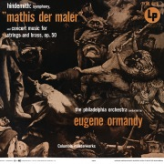 "Hindemith: Symphony ""Mathis der Maler"" & Concert Music, Op. 50 (Remastered)"